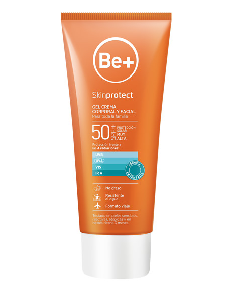 Be+ SKINPROTECT GEL CREMA 100ML