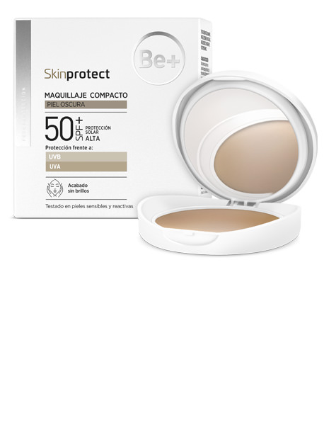 Be+ SKINPROTECT MAQUILLAJE OSCURA