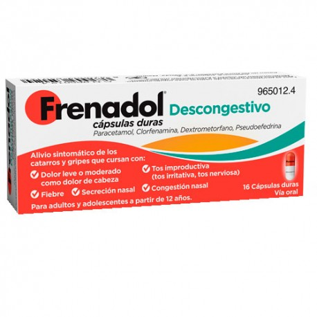 frenadol descongestivo