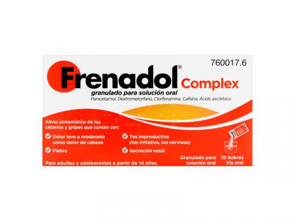 frenadol complex granulado para solucion oral 10 s t1