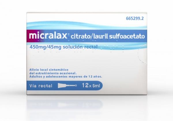 micralax enemas 12uds