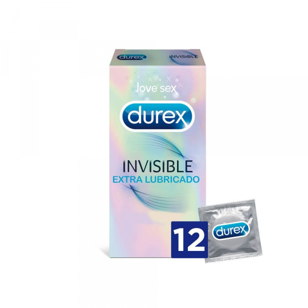 durex invisible 12 u