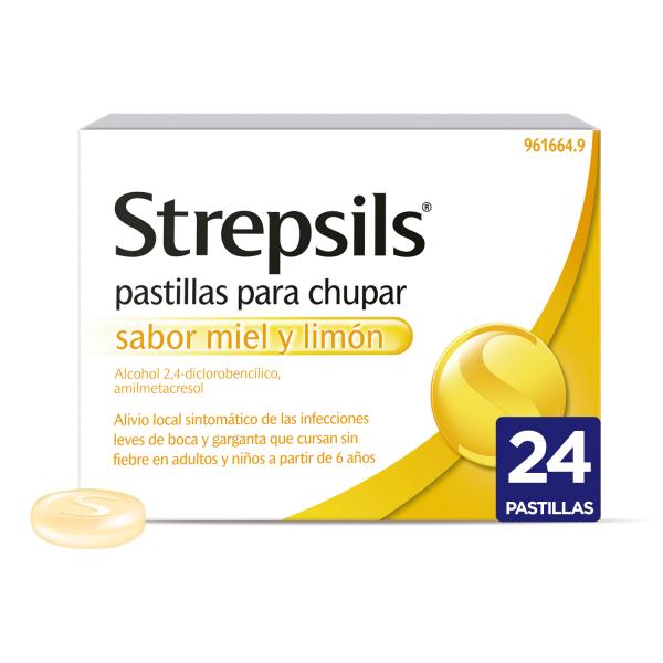 Strepsils Miel y Limón
