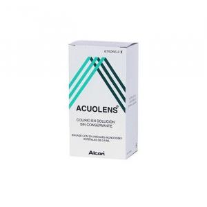 acuolens 553 mgml colirio 30 monodosis solucion