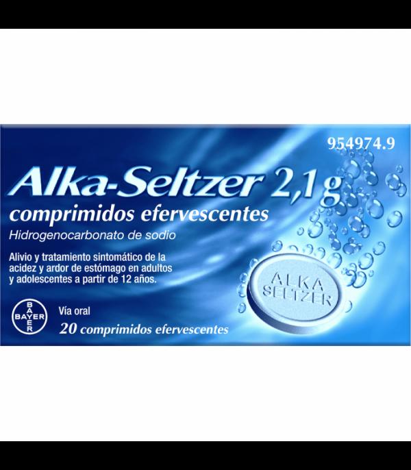 alka seltzer 20 comprimidos efervescentes