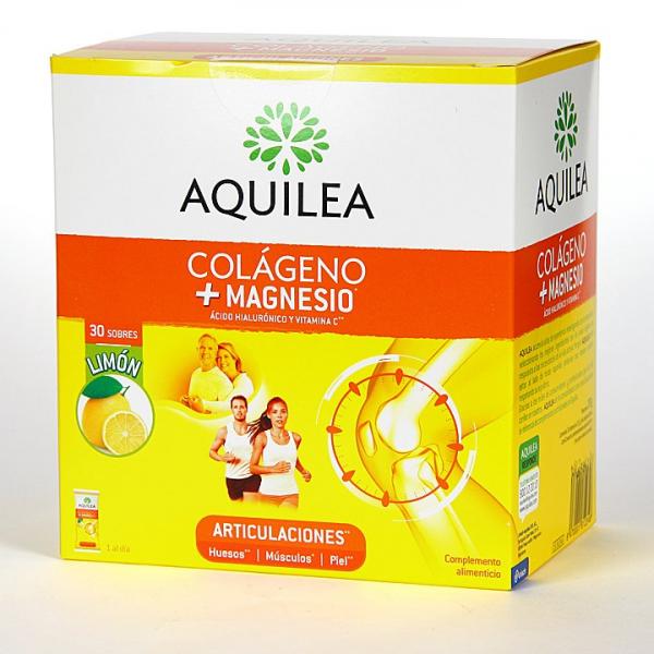 colageno magnesio sabor limon 30 sobres