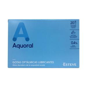 aquoral gotas oftalmologicas 20 monodosis 0-5ml