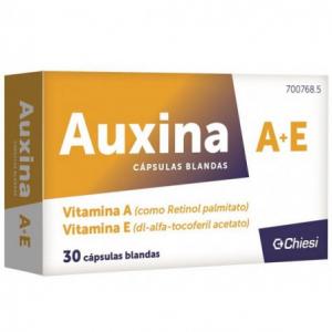 auxina a+e capsulas blandas