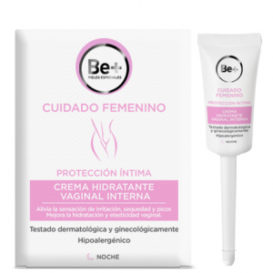 be+ intimo crema hidratante vaginal interna