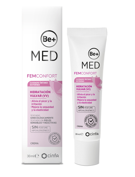 be+ med femcontrol hidratacion vulvar