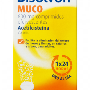 bisolvon muco 600mg efervescente