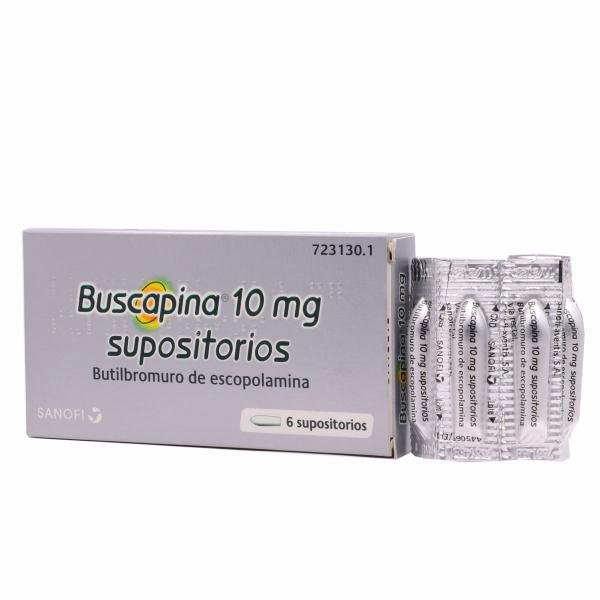buscapina 10 mg 6 supositorios