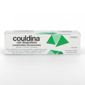 couldina con ibuprofeno