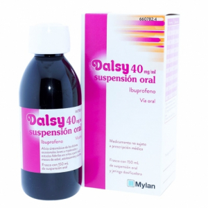 dalsy 40 mg ml suspension oral 150 ml