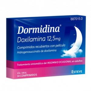 dormidina 12,5 mg