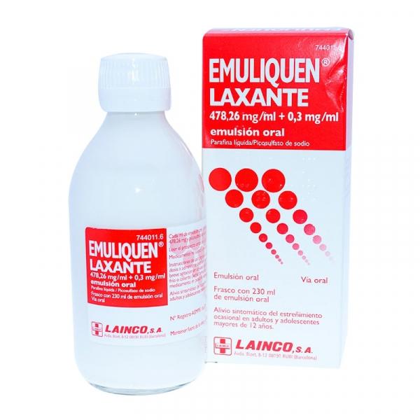 emuliquen laxante emulsion oral 230 ml