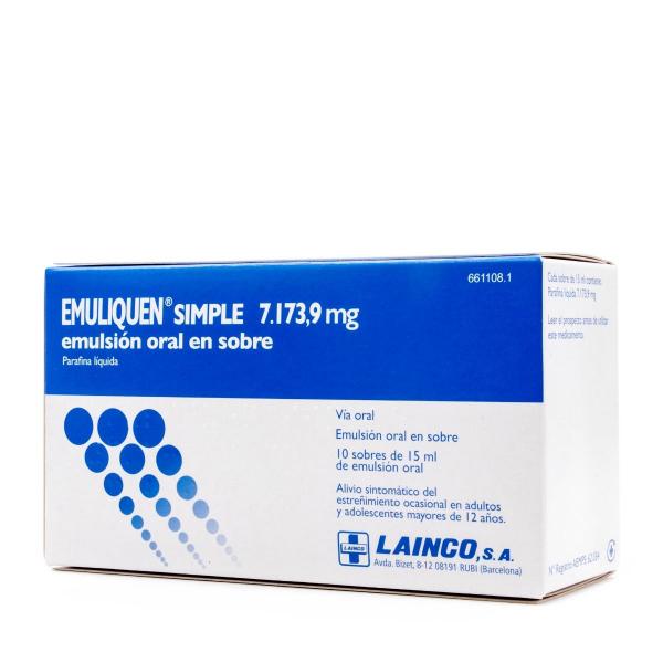 emuliquen simple emulsion oral en sobre 15ml