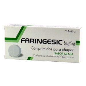 faringesic comprimidos para chupar 20uds