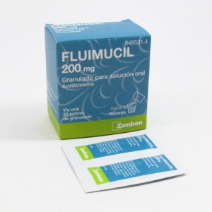 fluimucil 200 mg 30 sobres