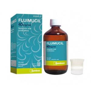 fluimucil 40 mgml solucion oral 200 ml