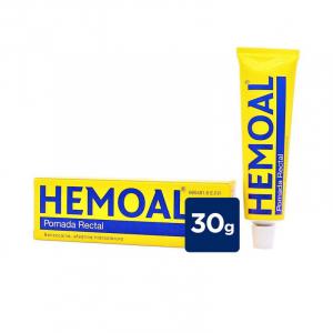 hemoal pomada rectal 30g