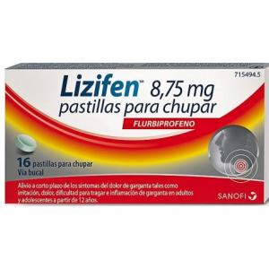 lizifen 16 pastillas para chupar