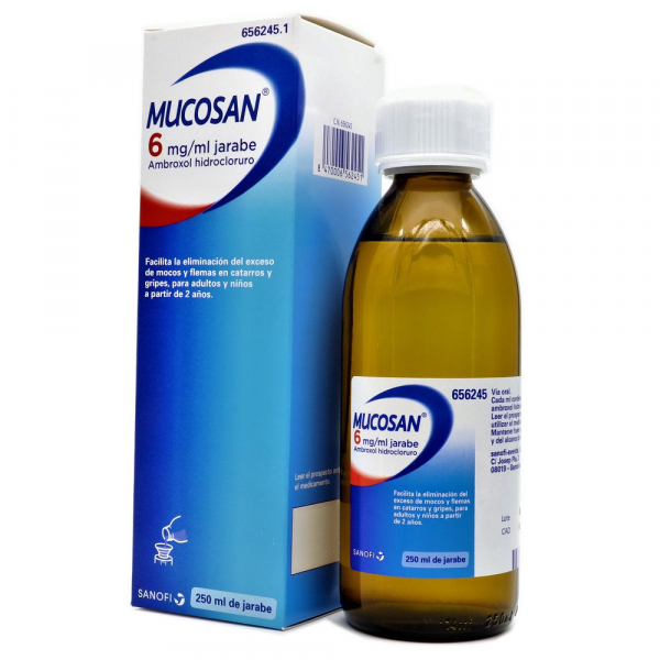 mucosan 30 mg jarabe 250 ml
