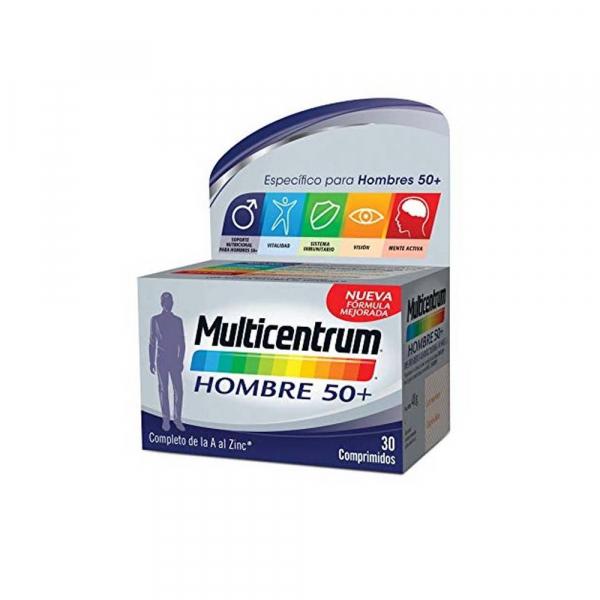 multicentrum hombre mas de 50 30 comprimidos