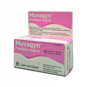muvagyn probiotico capsula vaginal 10 caps vagin