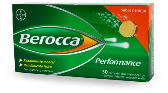 performance 30 comprimidos efervescentes