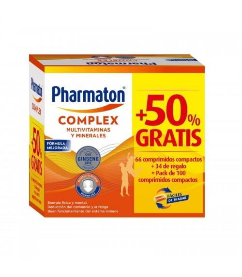 pharmaton complex capsulas pack promocional