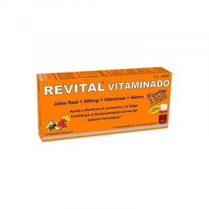 revital vitaminado forte 1500 20 viales