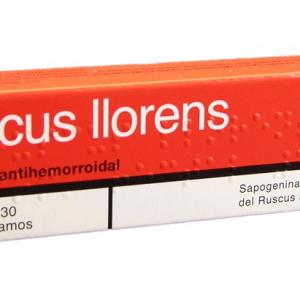 ruscus llorens pomada 30 g