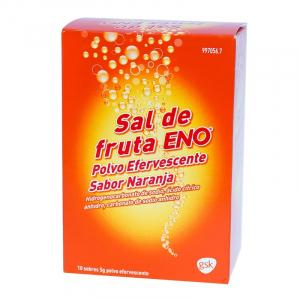 sal de fruta naranja sobres
