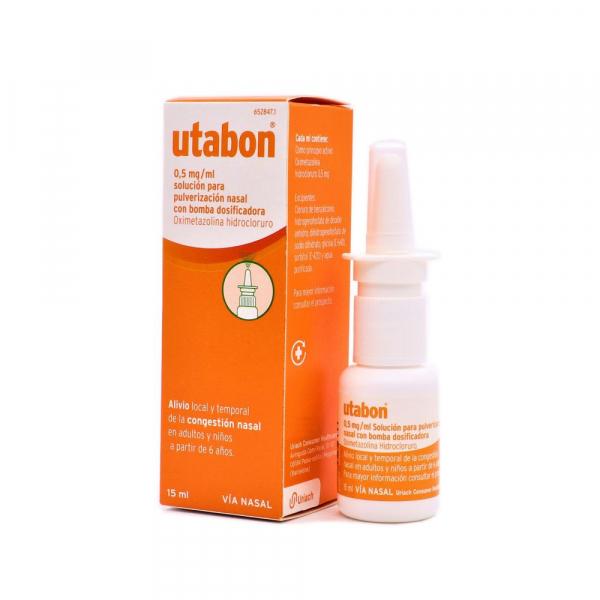 utabon 35 mcg pulverizador nasal con bomba dosificadora