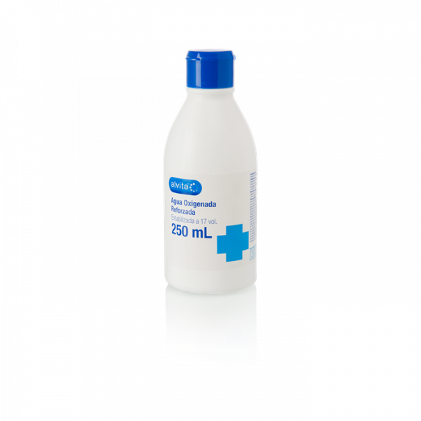 agua oxigenada alvita 250ml