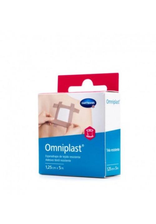esparadrapo hipoalergico omniplast tejido resistente color beige 5x125cm