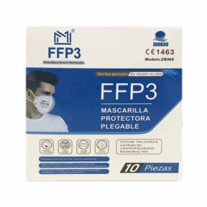 mascarilla ffp3 10unidades