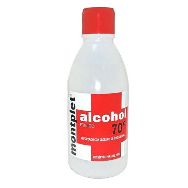 monplet alcohol 70 250 ml